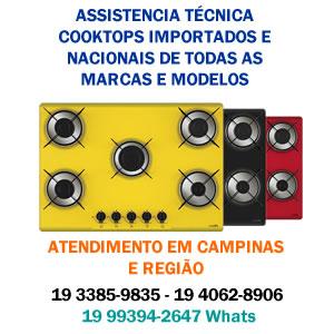 assistencia tecnica cooktops campinas