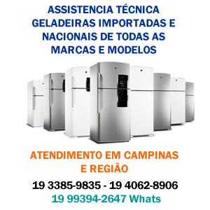 assistencia tecnica geladeira campinas