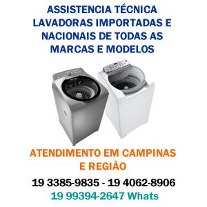 assistencia tecnica lavadora campinas