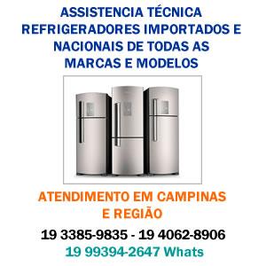 assistencia tecnica refrigerador campinas